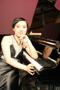TingTing at piano
